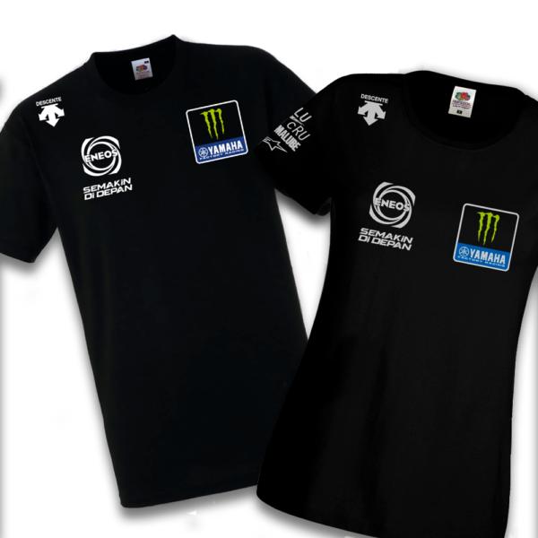 Tshirt Monster Energy Yamaha Factory Team