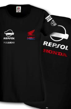 T-Shirt donna HRC Repsol Honda Team