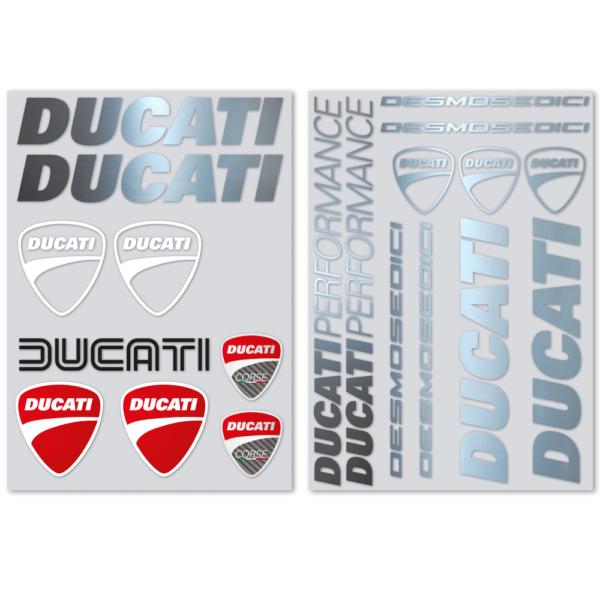 kit 20 adesivi Ducati